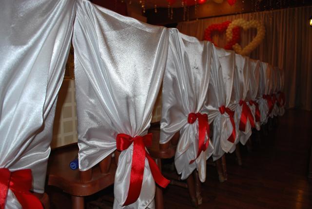 Как сделать чехлы на стулья на свадьбу 808
